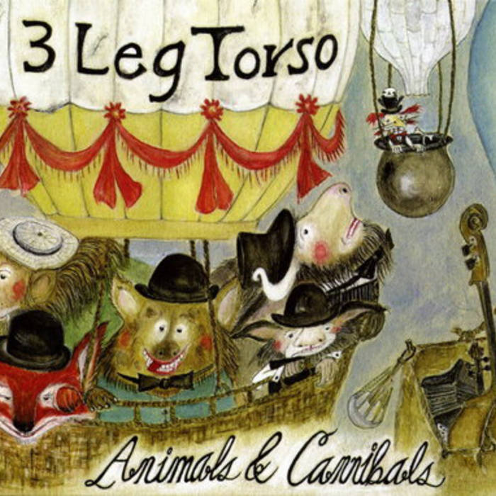 3 Leg Torso — Animals & Cannibals