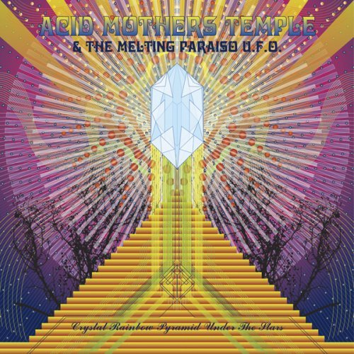 Crystal Rainbow Pyramid under the Stars Cover art