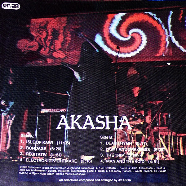 Akasha Cover art