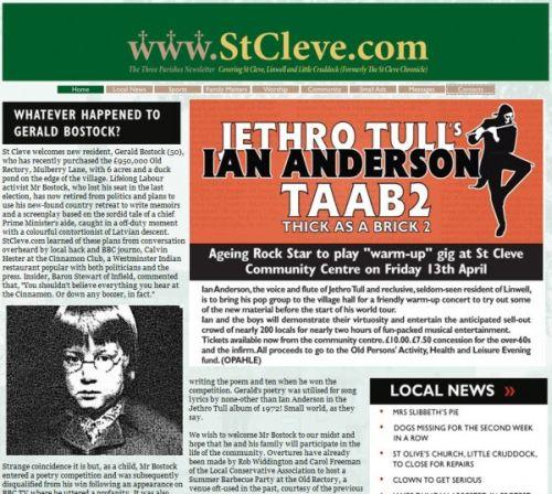 Ian Anderson — Thick as a Brick 2