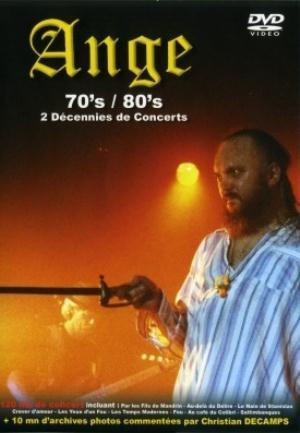 Ange  — 70's/80's - 2 Décennies de Concerts