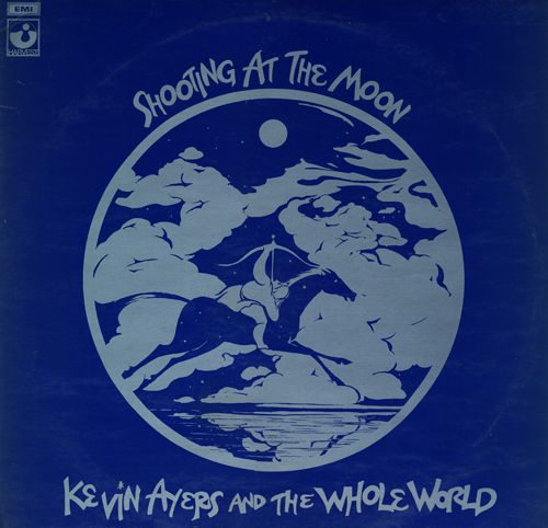 Shooting at the Moon Cover art