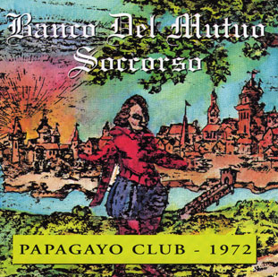 Papagayo Club 1972 Cover art