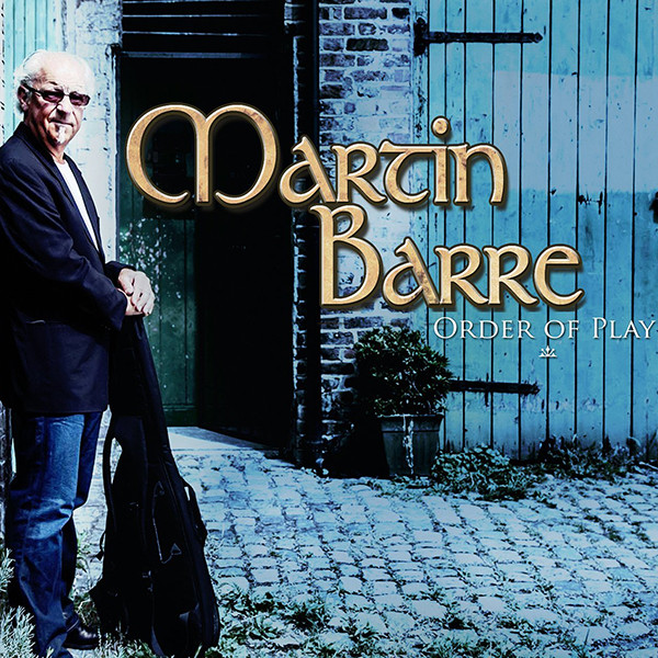 Martin Barre — Order of Play