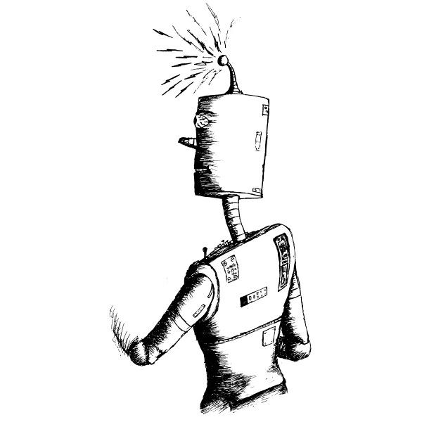 Be Brave Bold Robot — Be Brave Bold Robot