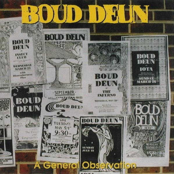 Boud Deun  — A General Observation