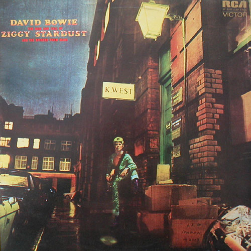 David Bowie — The Rise and Fall of Ziggy Stardust and the Spiders from Mars