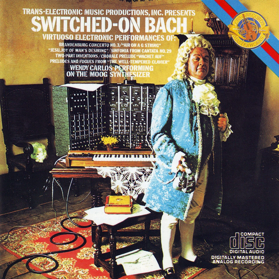 Switched-On Bach Cover art
