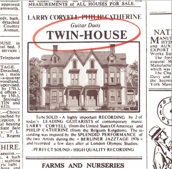 Larry Coryell / Philip Catherine — Twin-House