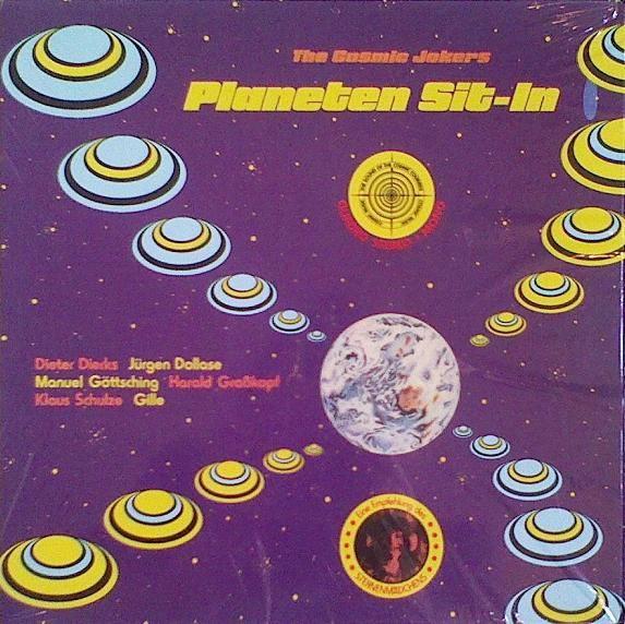 The Cosmic Jokers — Planeten Sit-In