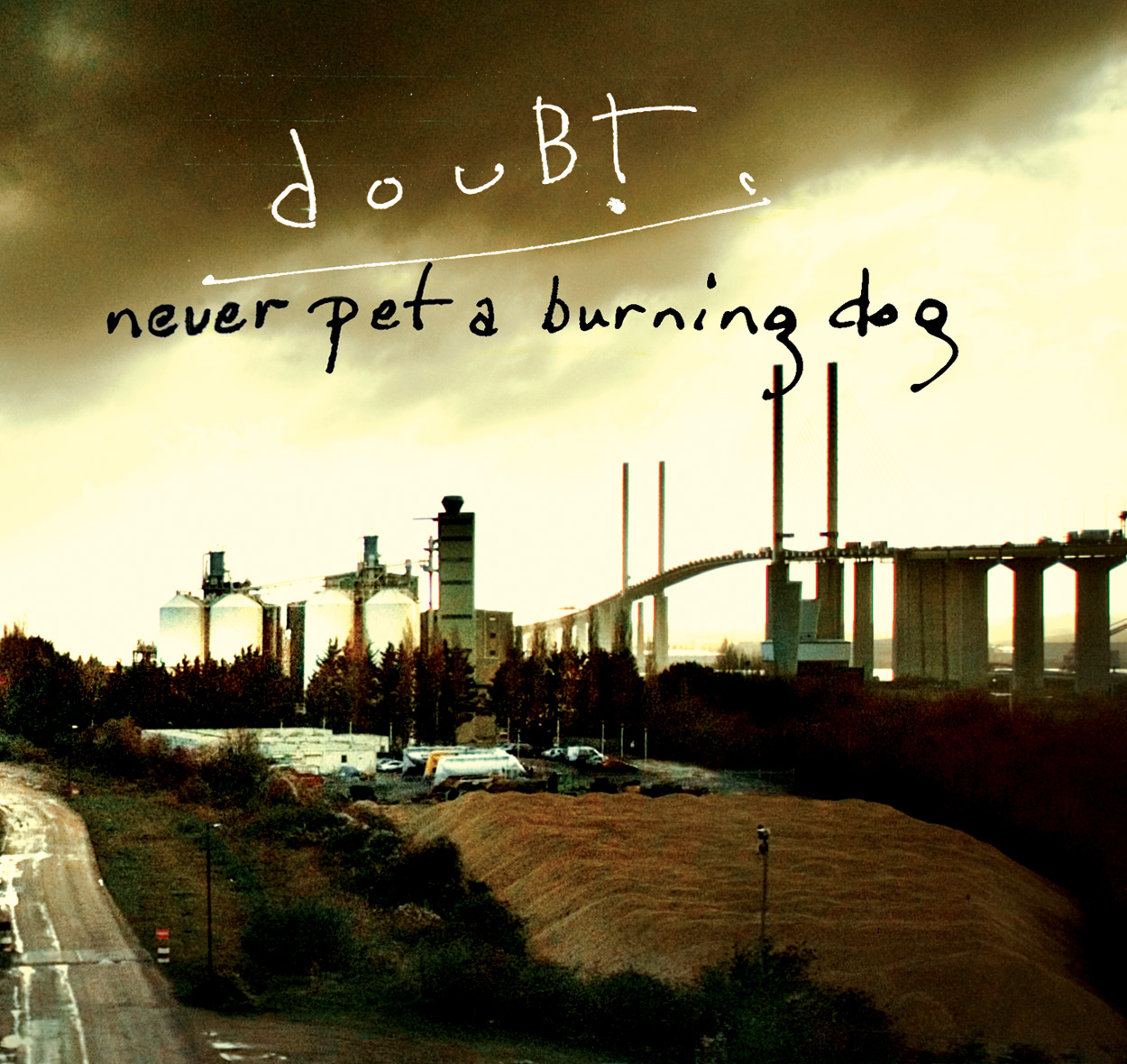 Never Pet a Burning Dog Cover art