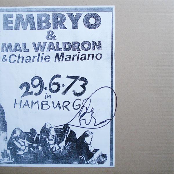 Embryo / Mal Waldron / Charlie Mariano — 2.6.73 in Hamburg