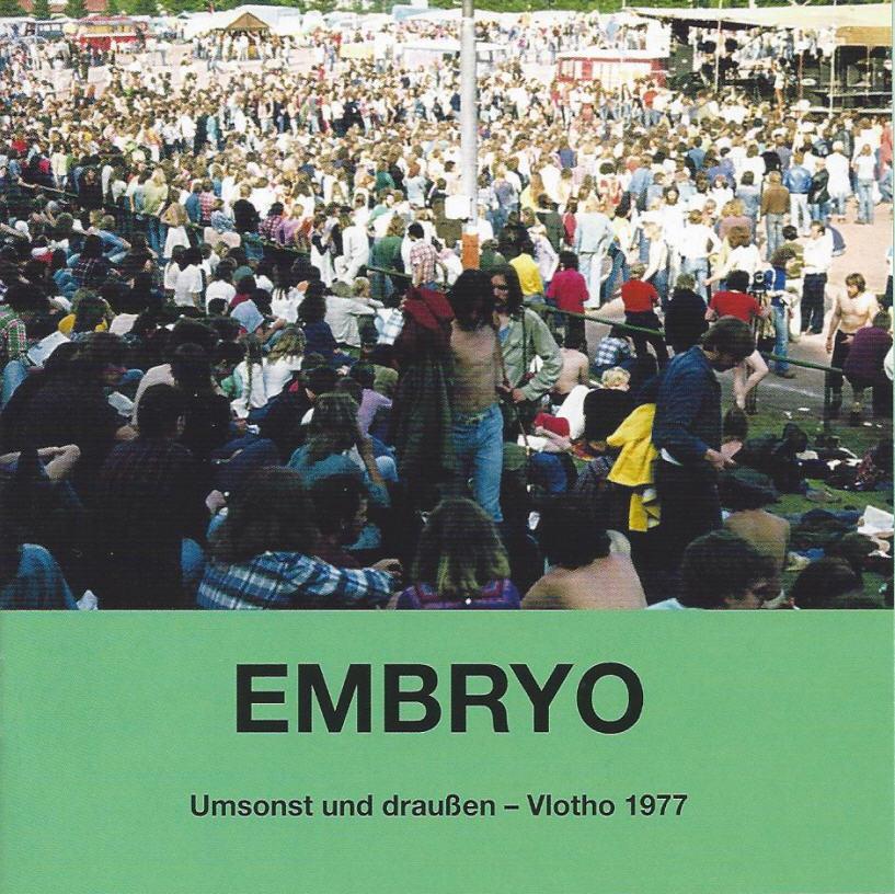 Embryo — Umsonst und Draußen – Vlotho 1977