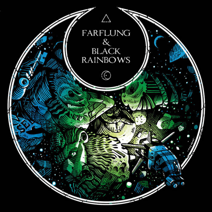 Farflung / Black Rainbows — Farflung & Black Rainbows (Split)