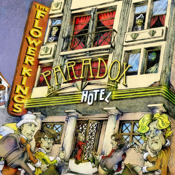 Flower Kings — Paradox Hotel