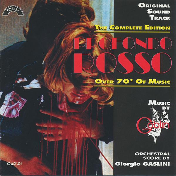 Goblin / Giorgio Gaslini — Profundo Rosso: The Complete Edition