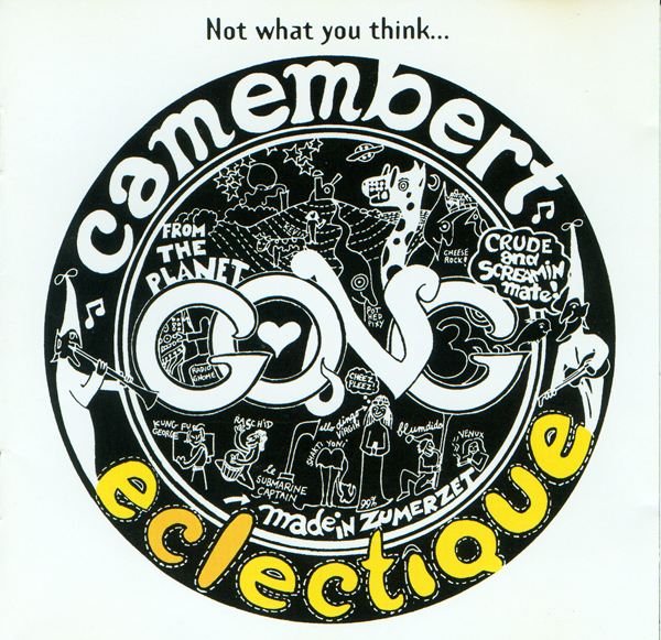 Camembert Eclectique Cover art