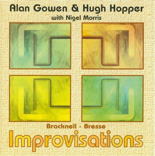 Bracknell Bresse Improvisations Cover art