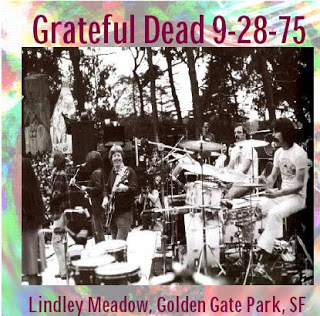 9-28-75 - Lindley Meadow, Golden Gate Park Cover art