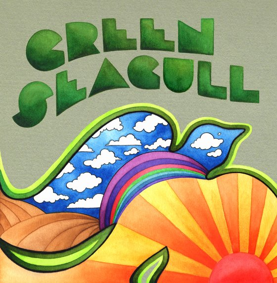 Green Seagull — (I Used to Dream In) Black and White / Not Like You and Me