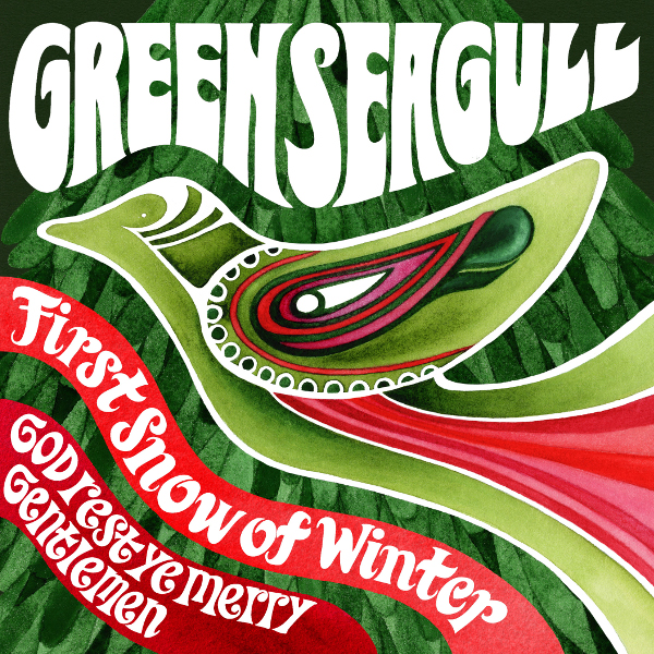 Green Seagull — First Snow of Winter