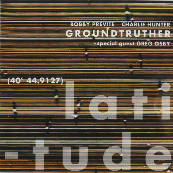 Groundtruther — Longitude
