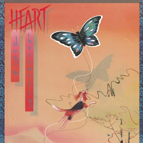 Heart — Dog & Butterfly