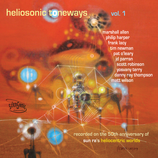 Heliosonic Toneways, Vol. 1 Cover art