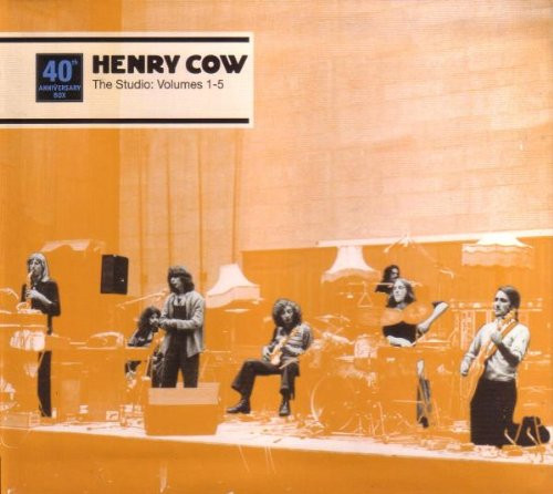 Henry Cow — The Studio: Volumes 1-5