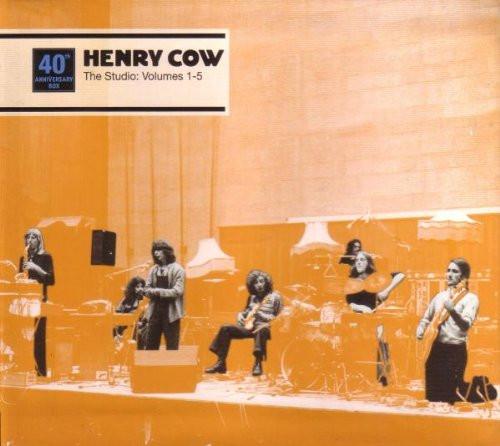 Henry Cow — The Studio: Volumes 1-5
