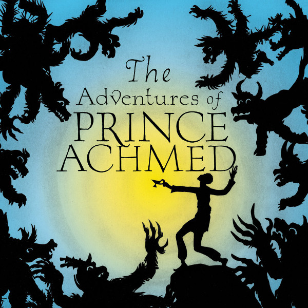 The Adventures of Prince Achmed Cover art