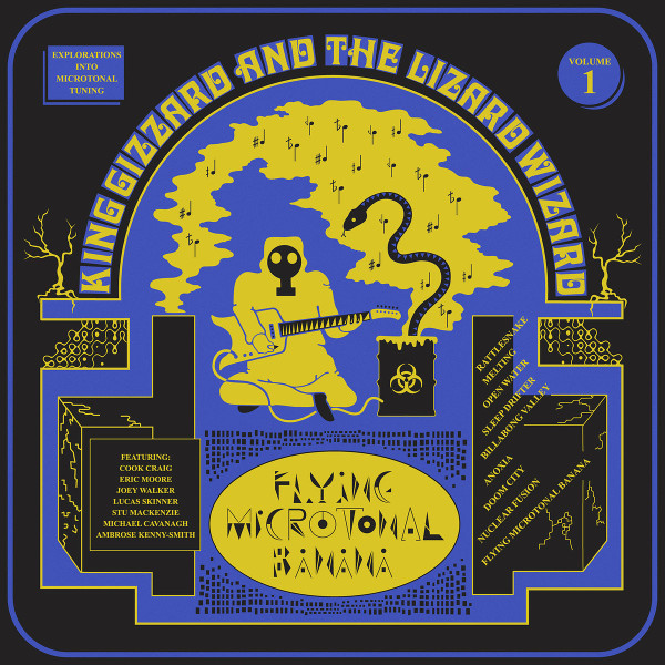 King Gizzard and the Lizard Wizard — Flying Microtonal Banana