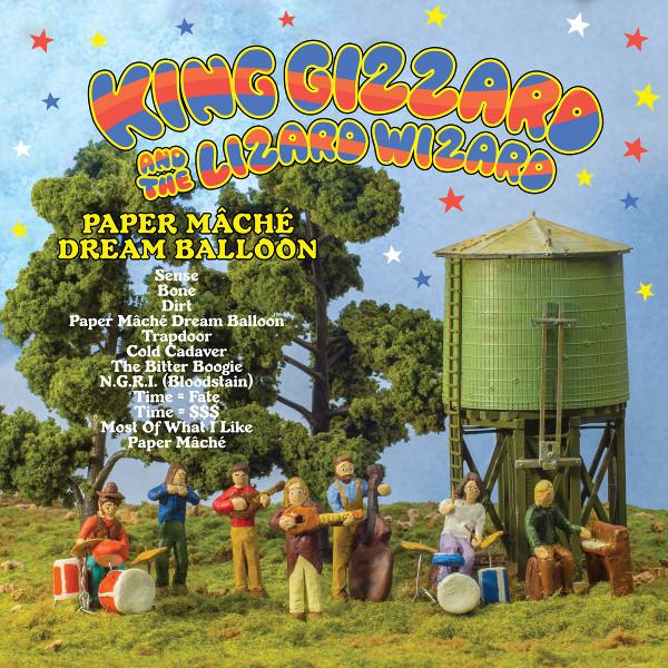 King Gizzard and the Lizard Wizard — Paper Mâché Dream Balloon