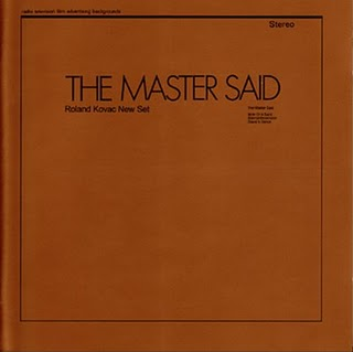 Roland Kovac New Set — The Master Said
