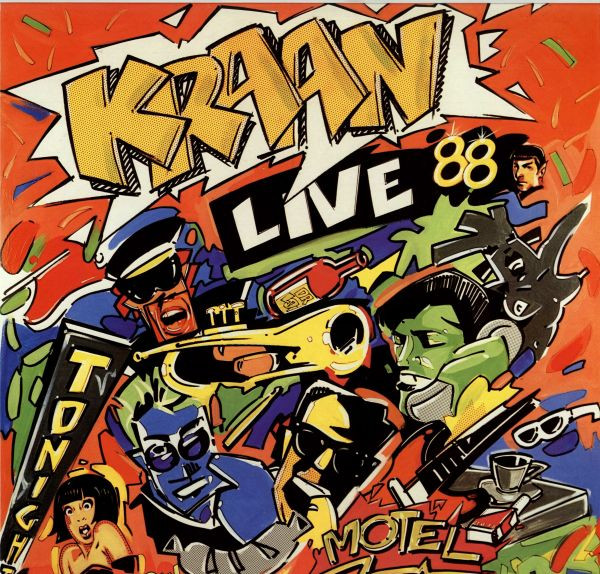 Live 88 Cover art