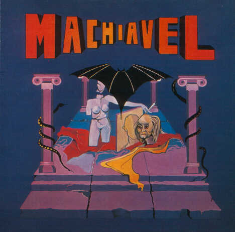 Machiavel  Cover art