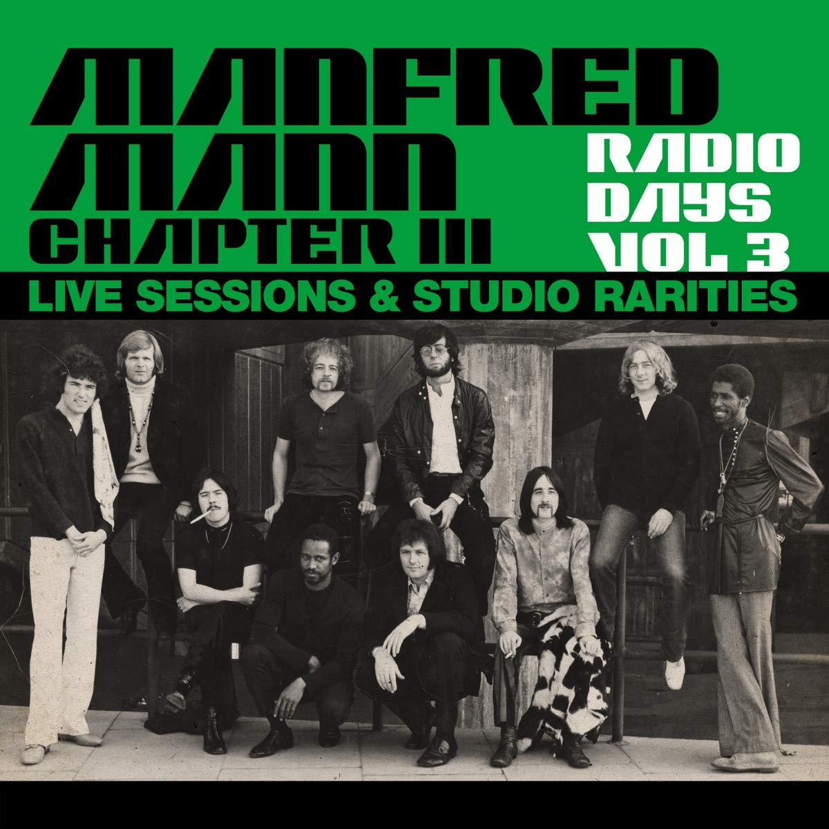 Manfred Mann Chapter III — Radio Days Vol 3 - Live Sessions & Studio Rarities