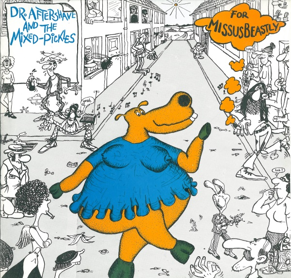 Dr. Aftershave and the Mixed Pickles Cover art