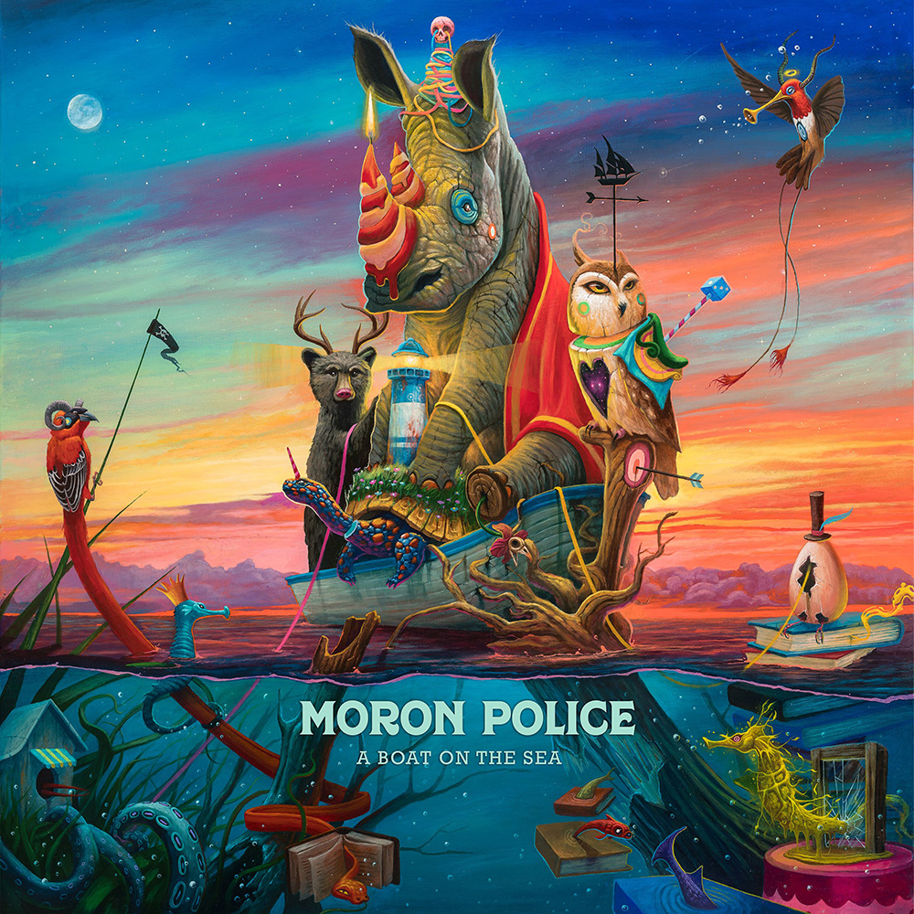 Moron Police — A Boat on the Sea