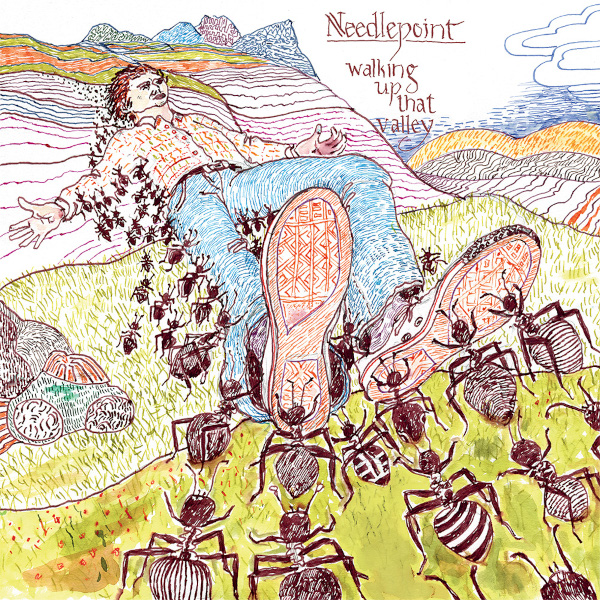 Needlepoint — Walking up That Valley