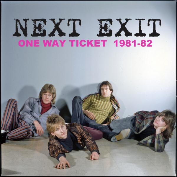 One Way Ticket - 1981-82 Cover art