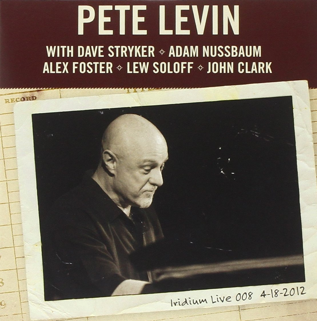 Pete Levin — Live at the Iridium