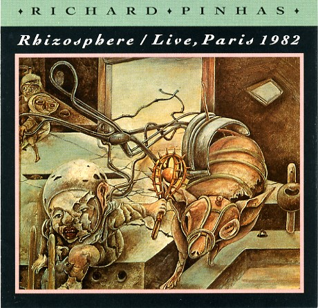 Rhizosphere / Live, Paris 1982 Cover art