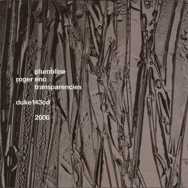 Plumbline / Roger Eno — Transparencies