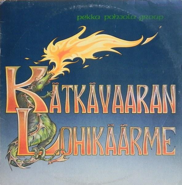 Kätkävaaran Lohikäärme Cover art
