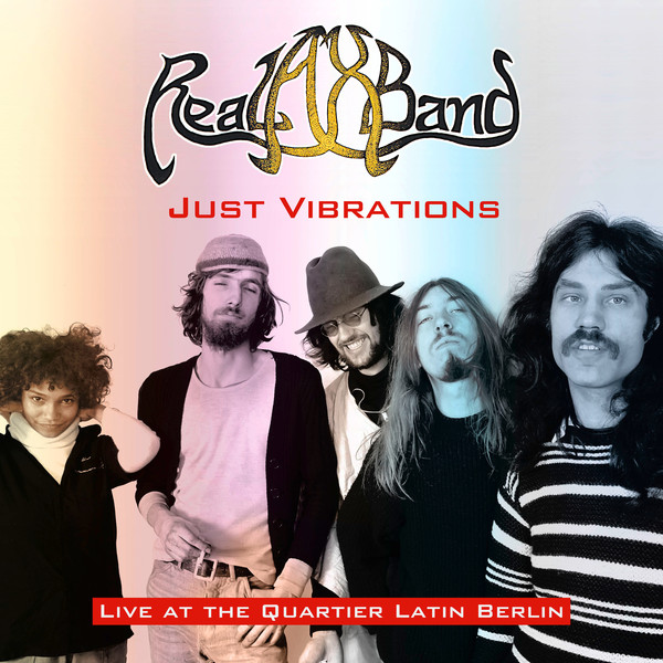 Just Vibrations - Live at the Quartier Latin Berlin Cover art