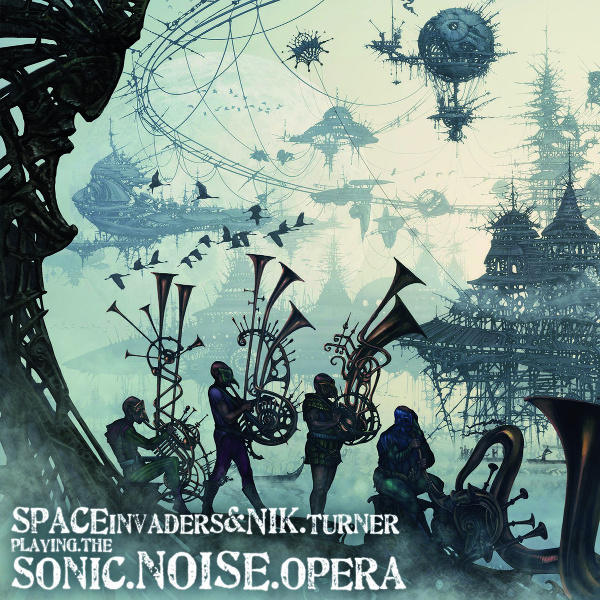 Space Invaders & Nik Turner — Playing the Sonic Noise Opera