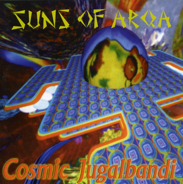 Cosmic Jugalbandi Cover art