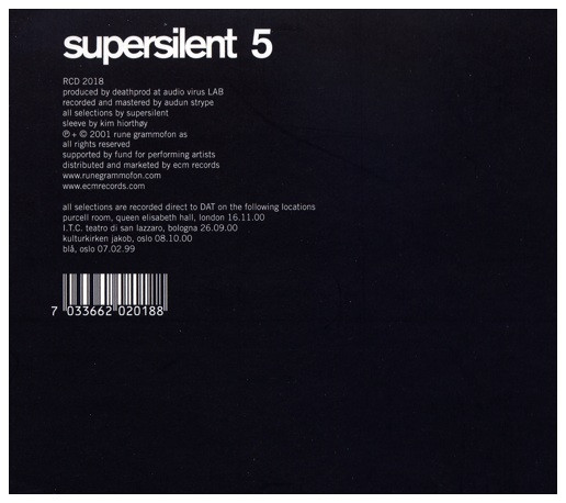 Supersilent — 5