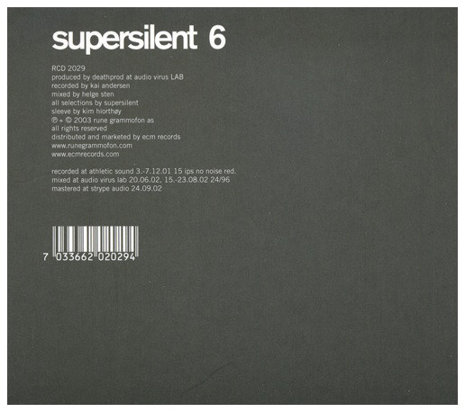 Supersilent — 6